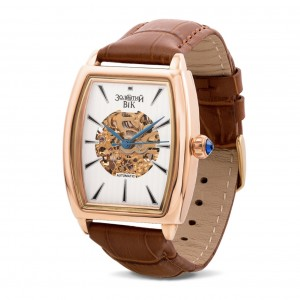 Золотые мужские часы 9113-6