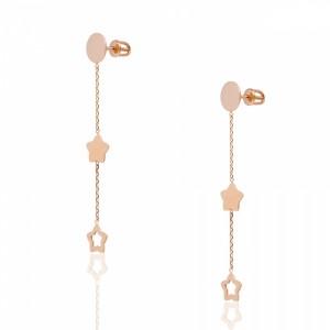Золотые женские серьги цепочки 2006938101