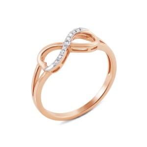 Золотое женское кольцо 12961