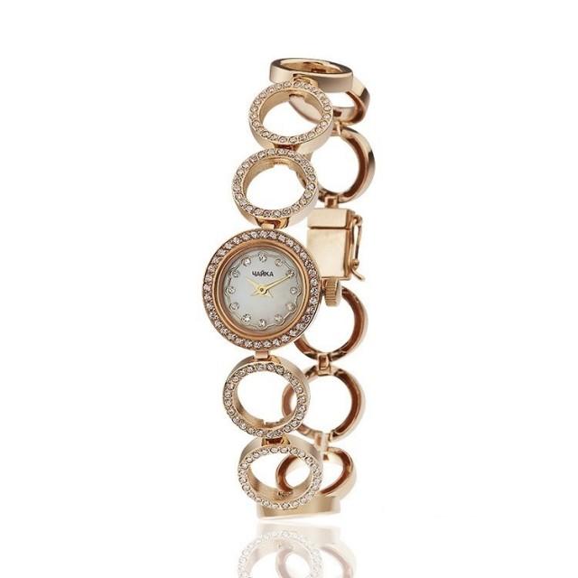 Золотые часы женские 142