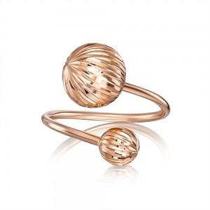 Золотое женское кольцо 01915-1