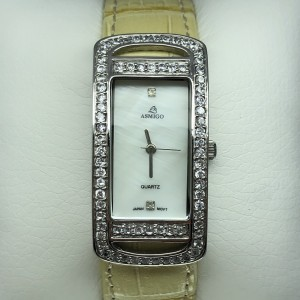 Серебряные часы женские 24031