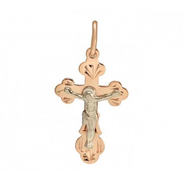 Золотой крестик 230014