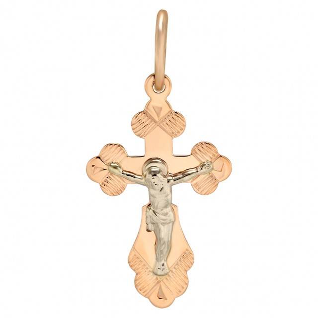 Золотой крестик 230098