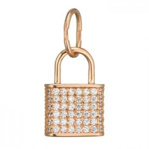 Золотой подвес Замок 3191959101