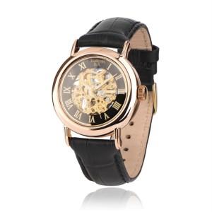 Золотые мужские часы 9114-1