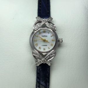 Серебряные женские часы 109р