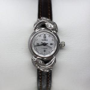 Серебряные женские часы 17Р