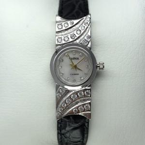 Серебряные женские часы 80р