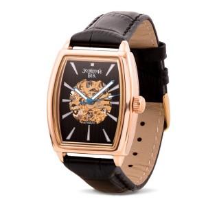 Золотые мужские часы 9113-1