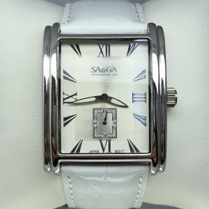 Серебряные часы женские 24121