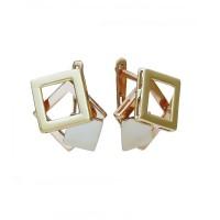 Золотые женские серьги СБ325