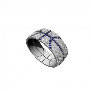 Золотое обручальное кольцо 908111