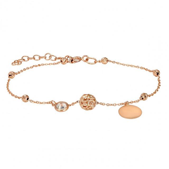Золотой женский браслет 820161