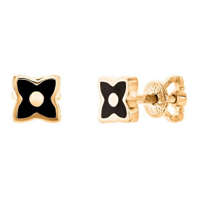 Золотые серьги гвоздики СП1467