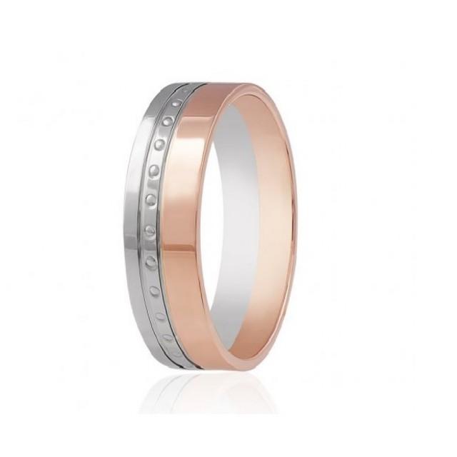 Золотое обручальное кольцо К022