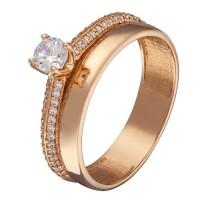 Золотое женское кольцо 1104263101