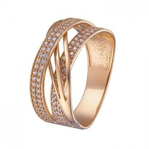 Золотое кольцо женское 1106500101