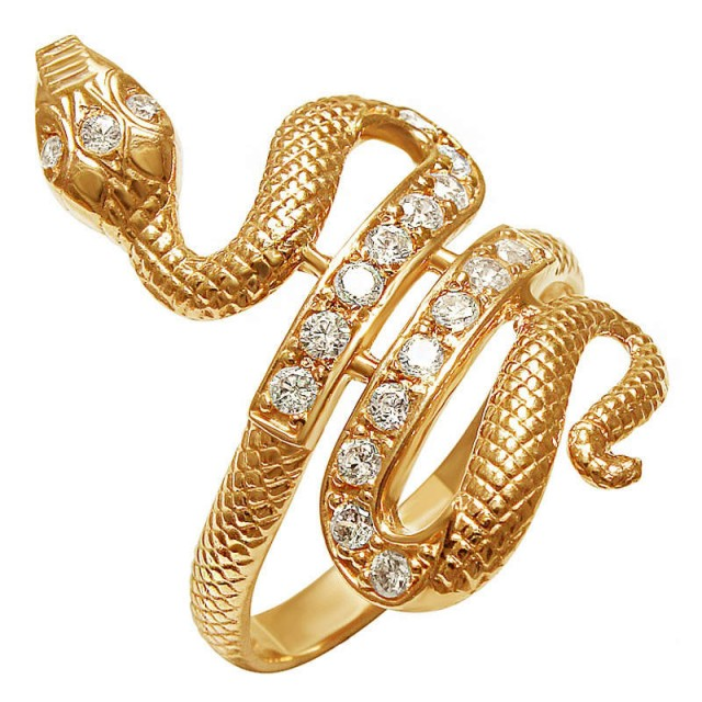 Золотое кольцо змея.