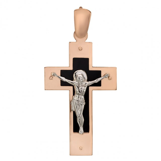 Золотой крестик 210193