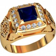 Золотая печатка мужская 701120