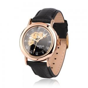 Золотые мужские часы 9116-1