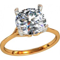 Золотое кольцо женское 212380