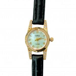 Золотые часы женские 12р