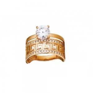 Золотое женское кольцо КВ2412