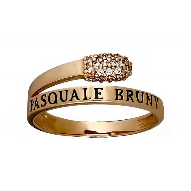 Золотое кольцо женское КВ2836
