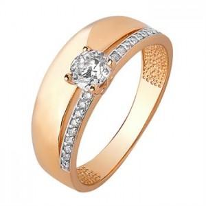 Золотое кольцо женское 1101430101