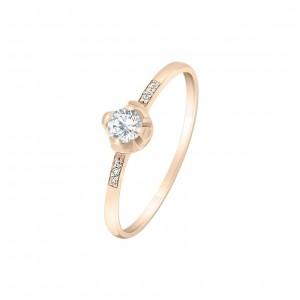 Золотое женское кольцо 1101472101