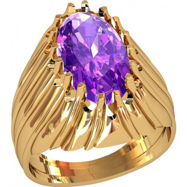 Золотой женский перстень 214060 фото