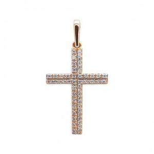 Золотой крестик 3101035101 фото