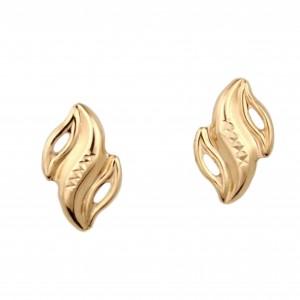 Золотые серьги 470360
