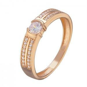 Золотое женское кольцо 1105233101