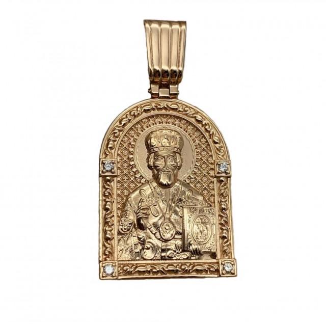 Золотой подвес 150813