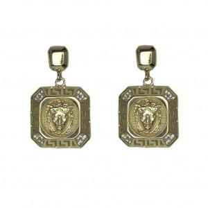 Золотые женские серьги 2124472