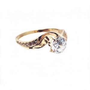 Золото женское кольцо 492/035