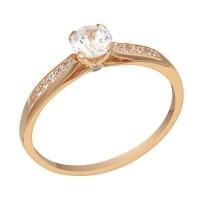 Золотое женское кольцо 1101018101