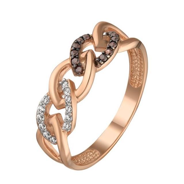 Золотое женское кольцо 1106720101