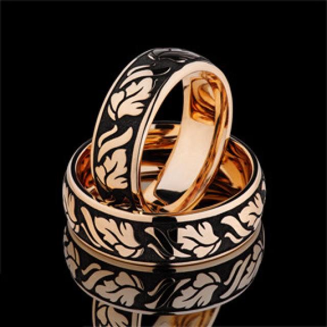 Золотое обручальное кольцо 13-01