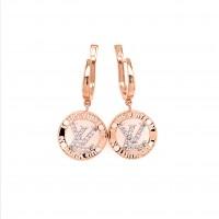 Золотой серьги Louis Vuitton 2121904