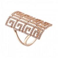 Золотое женское кольцо 11167901