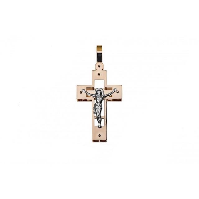 Золотой крестик 210192