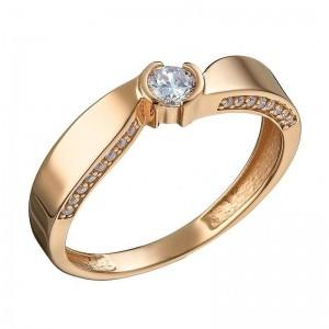 Золотое женское кольцо 1105234101