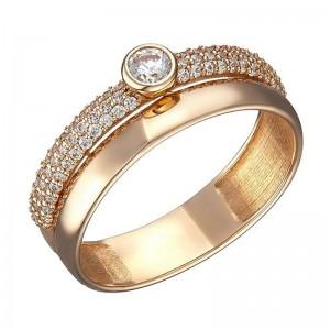 Золотое кольцо женское 1104264101
