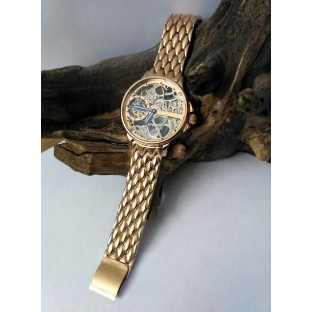 Золотые мужские часы 1353+693м