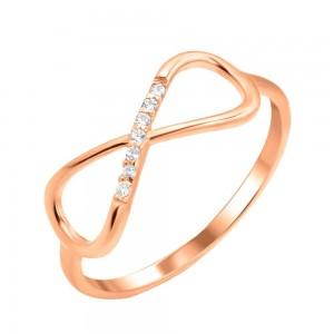 Золотое женское кольцо K122 Platon