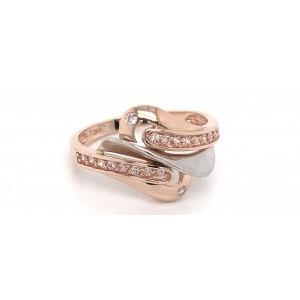 Золотое женское кольцо 142979 фото